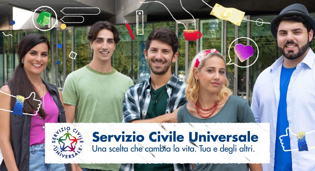 Servizio Civile Universale: pubblicato il Bando per la selezione di 39.646 volontari