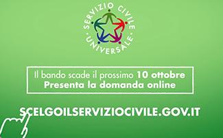Online lo spot del Bando del Servizio Civile Universale!